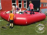 Bouncy pillow 5x5 m, Red, rental quality - 1