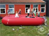 Bouncy pillow 5x5 m, Red, rental quality - 3