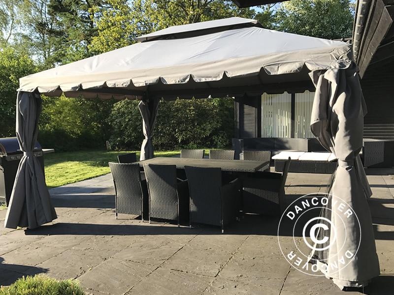 pavillon osiris 3 5x3 5m gr dancovershop dk. Black Bedroom Furniture Sets. Home Design Ideas