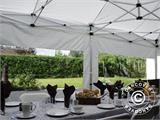 Carpa para fiestas, SEMI PRO Plus CombiTents® 5x10m, 3 en 1, Blanco - 32