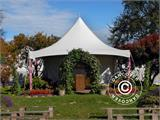 Pagoda Marquee PartyZone 5x5 m, PVC, White - 4
