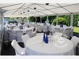 Marquee Exclusive 6x12 m PVC, Grey/White - 3