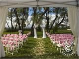 Marquee Exclusive 6x12 m PVC, Grey/White - 21