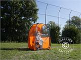 All Weather Pod/Football Mom pop-up tent, FlashTents®, 2 persons, Black - 5