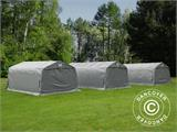 Portable Garage PRO 3.3x6x2.4 m PVC, Grey - 1