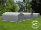 Portable Garage PRO 3.3x6x2.4 m PVC, Grey - 2