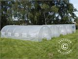 Polytunnel Greenhouse 3x8x2 m, Transparent - 2