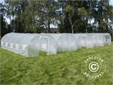 Polytunnel Greenhouse 3x4.5x2 m, Transparent - 1
