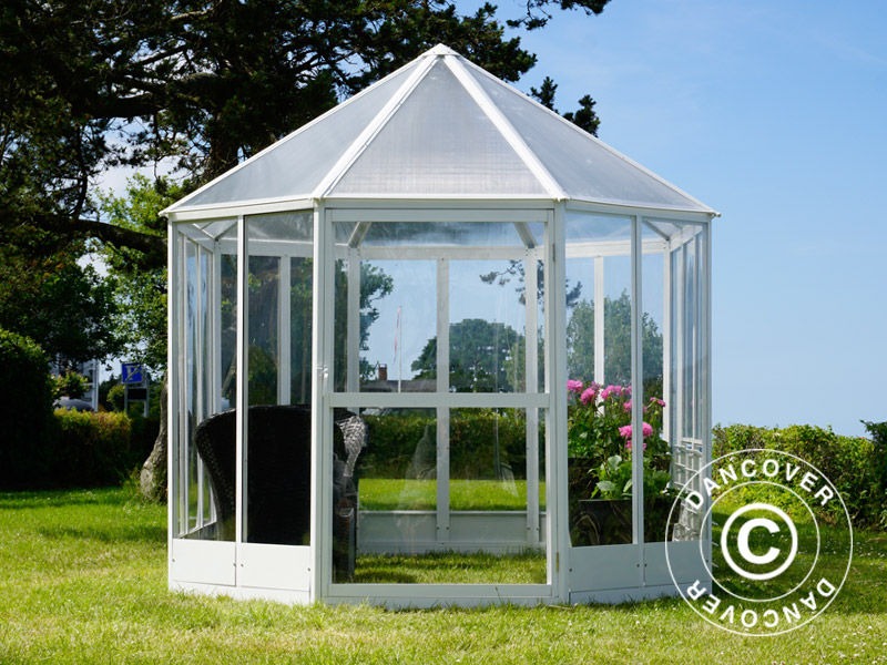 orangerie polycarbonat gew chshaus 7 95m 2 41x3 3x2 58m. Black Bedroom Furniture Sets. Home Design Ideas