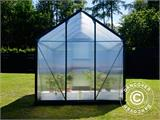 Greenhouse Polycarbonate 3.64m², 1.9x1.92x2.01 m, Green - 2