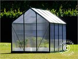 Greenhouse Polycarbonate 3.64m², 1.9x1.92x2.01 m, Green - 5