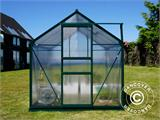 Greenhouse Polycarbonate 3.64m², 1.9x1.92x2.01 m, Green - 10