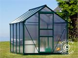 Greenhouse Polycarbonate 3.64m², 1.9x1.92x2.01 m, Green - 11