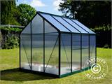 Greenhouse Polycarbonate 3.64m², 1.9x1.92x2.01 m, Green - 13