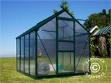 Greenhouse Polycarbonate 3.64m², 1.9x1.92x2.01 m, Green - 14