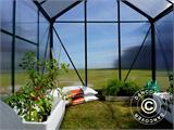Greenhouse Polycarbonate 3.64m², 1.9x1.92x2.01 m, Green - 16