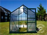 Greenhouse Polycarbonate 3.64m², 1.9x1.92x2.01 m, Green - 17