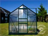 Greenhouse Polycarbonate 3.64m², 1.9x1.92x2.01 m, Green - 18