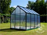 Greenhouse Polycarbonate 3.64m², 1.9x1.92x2.01 m, Green - 19