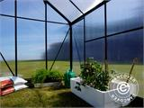 Greenhouse Polycarbonate 3.64m², 1.9x1.92x2.01 m, Green - 21