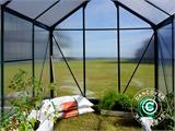 Greenhouse Polycarbonate 3.64m², 1.9x1.92x2.01 m, Green - 23