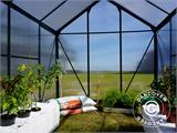 Greenhouse Polycarbonate 3.64m², 1.9x1.92x2.01 m, Green - 25