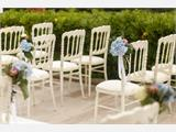 Stacking chair, Napoleon, Grey, 6 pcs. - 1