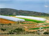 Commercial greenhouse tunnel extension, 9.7x2x3.95 m, Transparent - 7