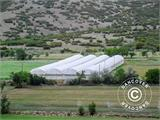 Commercial greenhouse tunnel extension, 9.7x2x3.95 m, Transparent - 8