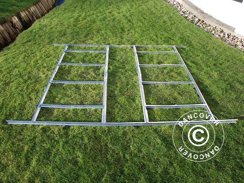 Estructura de suelo para caseta de jard n proshed 3 4x3 - Suelos para jardin ...