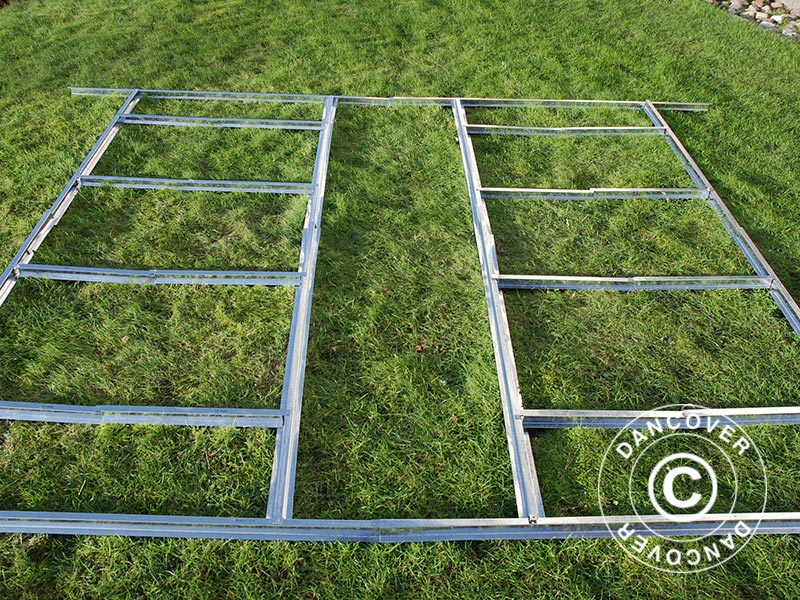 Estructura de suelo para caseta de jard n proshed 3 4x3 for Estructuras para jardin
