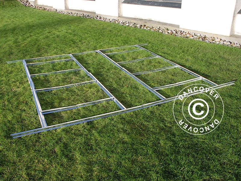 cadre pour le sol pour abri de jardin proshed 3 4x3 82m dancovershop fr. Black Bedroom Furniture Sets. Home Design Ideas