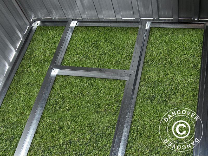 Suelo de jardin finest foco de jardn empotrable en el for Caseta aluminio terraza