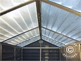 Polycarbonate Garden shed, SkyLight, 1.86x1.54x2.17 m, Anthracite - 2