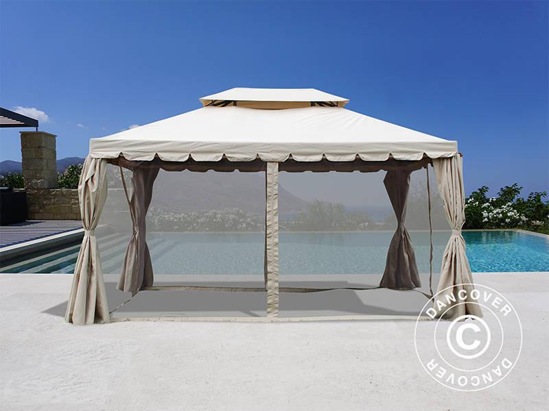 Kunststoff Pavillon Planen : Pavillon osiris m sand dancovershop de