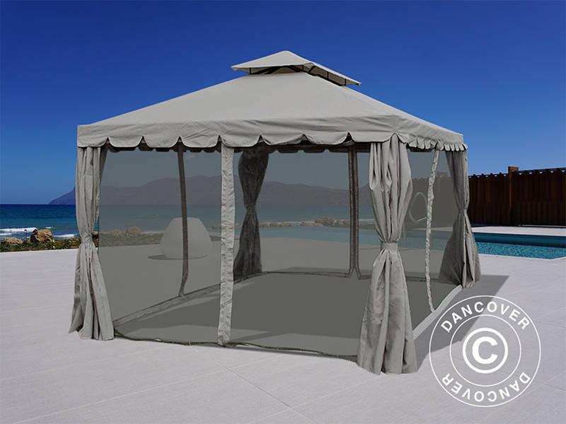 Kunststoff Pavillon Planen : Pavillon osiris m grau dancovershop de