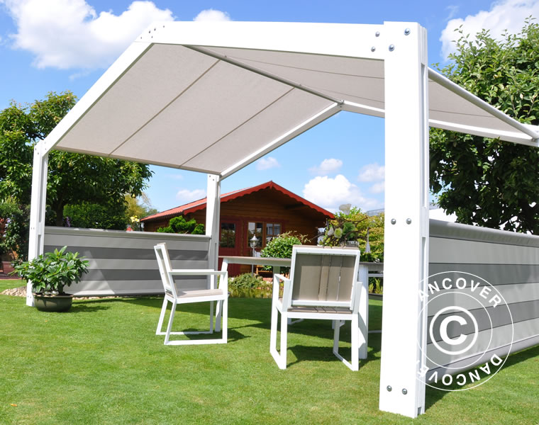 gazebo summer residence 5x3 m dancovershop uk. Black Bedroom Furniture Sets. Home Design Ideas