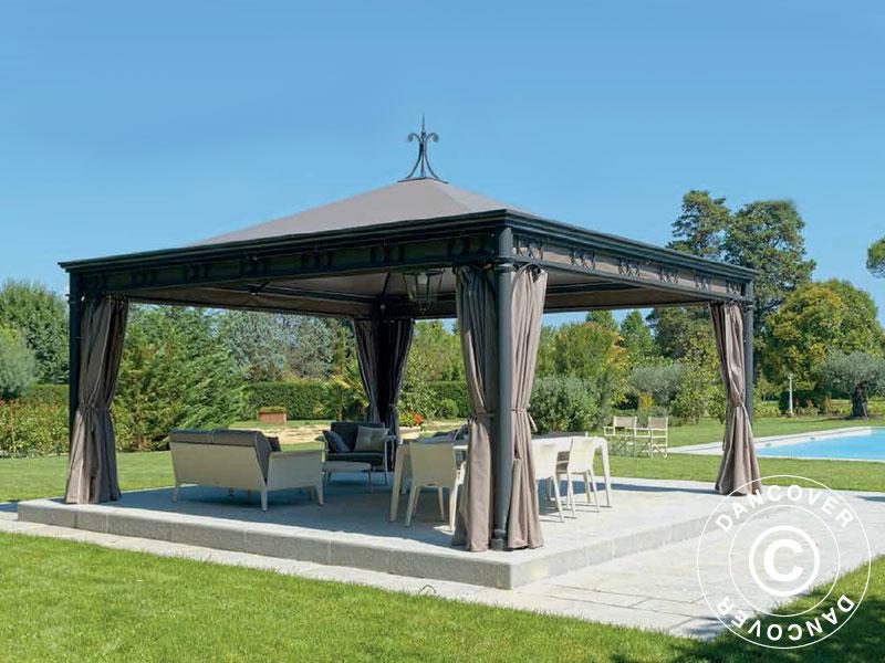 gazebo pavillon de jardin gazebo maltesta dancovershop fr. Black Bedroom Furniture Sets. Home Design Ideas