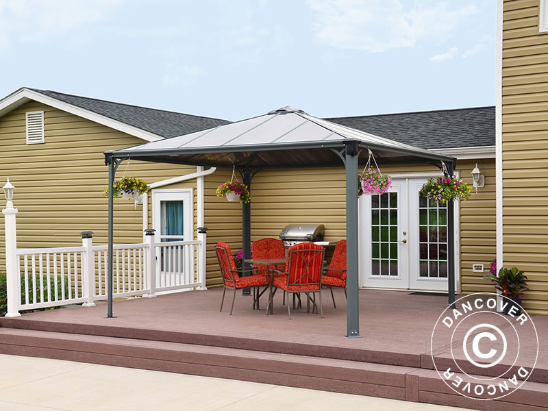 pavillon palermo 3 6x3 6m dancovershop dk. Black Bedroom Furniture Sets. Home Design Ideas