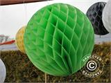 Honeycomb ball, 30 cm, Green, 10 pcs.  - 6