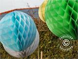 Honeycomb ball, 30 cm, Green, 10 pcs.  - 8