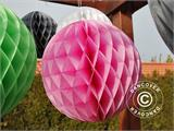 Honeycomb Ball, 50 cm, Pink, 10 pcs.  - 1