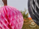 Honeycomb Ball, 50 cm, Pink, 10 pcs.  - 4