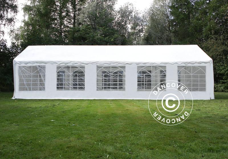 Partytent PLUS 5x10 m PE, Wit Dancovershop NL