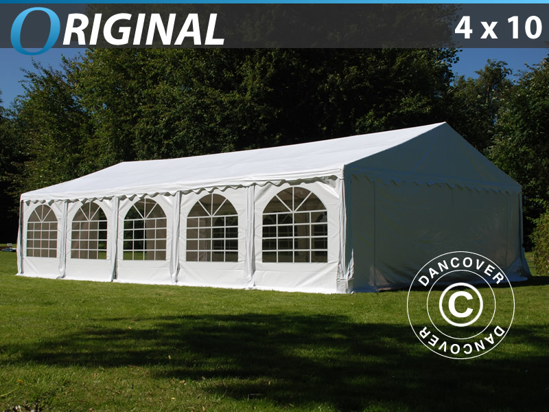 Partytält Original 4x10m PVC. Partytält till salu. Köp