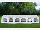 Marquee Exclusive 5x12 m PVC, White - 1