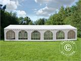 Marquee Exclusive 5x12 m PVC, White - 3