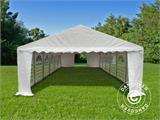 Marquee Exclusive 5x12 m PVC, White - 4