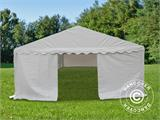 Marquee Exclusive 5x12 m PVC, White - 5