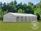 Marquee Exclusive 5x12 m PVC, White - 8